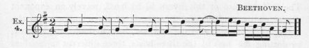 Example 4.  Fragment of Beethoven.