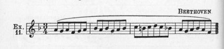Example 11.  Fragment of Beethoven.
