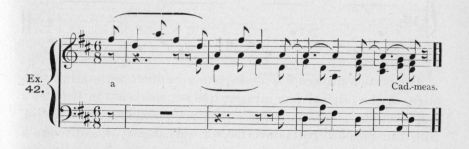 Example 42.  Fragment of Beethoven.