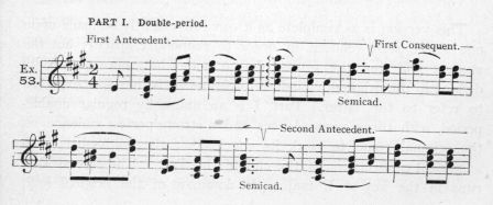Example 53.  Fragment of Schumann.